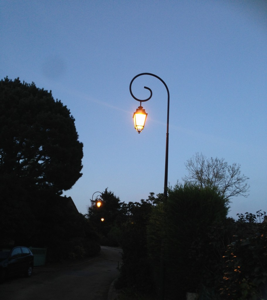 lampadaires Harry Potter
