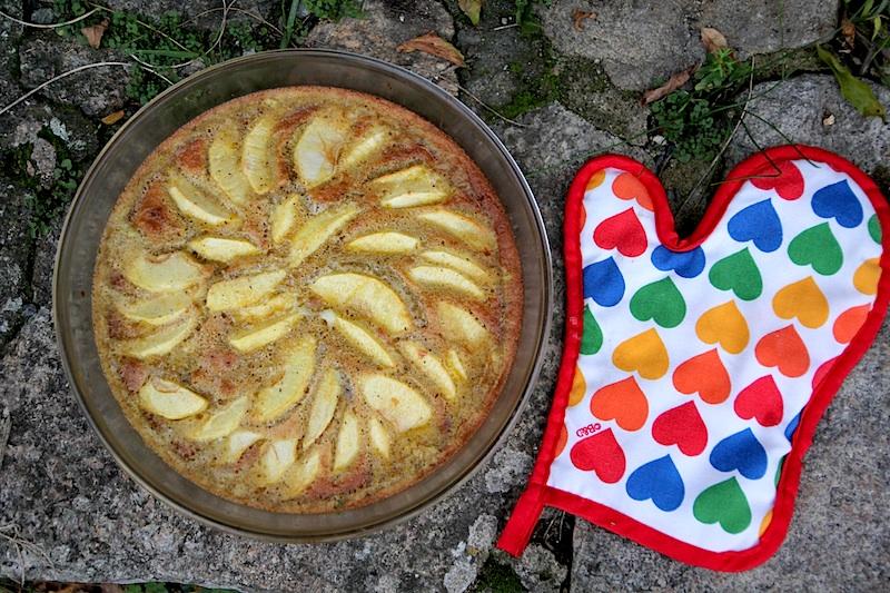 Gâteau à la farine de blé noir, pour la recette, cliquez sur l'image.