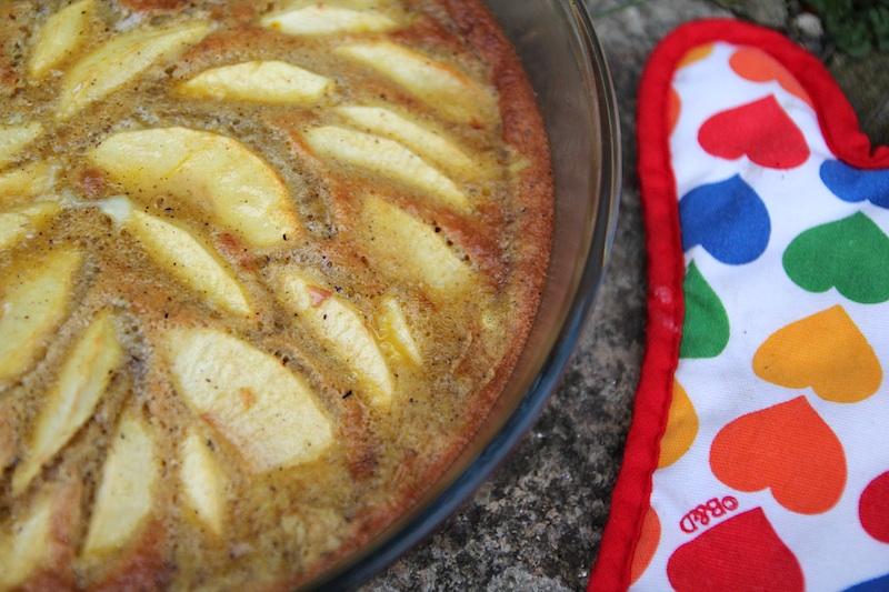 Gâteau à la farine de blé noir, cliquez sur la photo pour lire la recette.