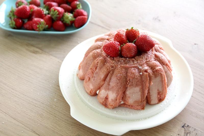 Recette simple de la charlotte aux fraises