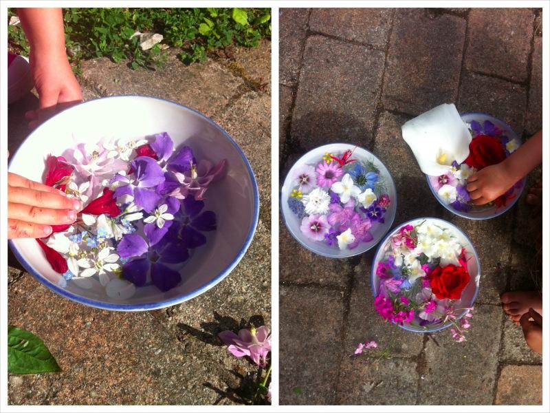 Bouquets flottants