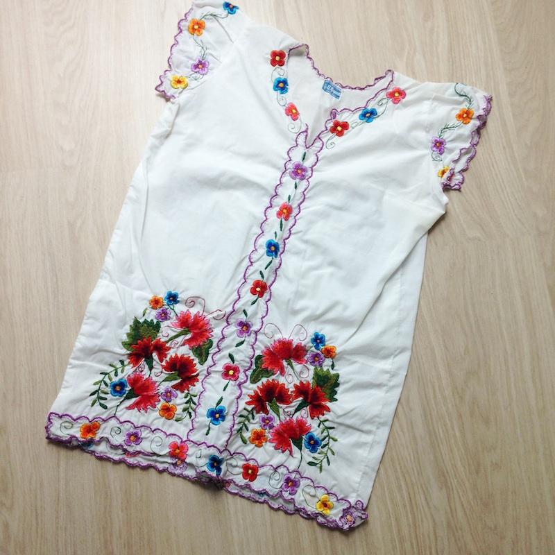 blouse mexicaine