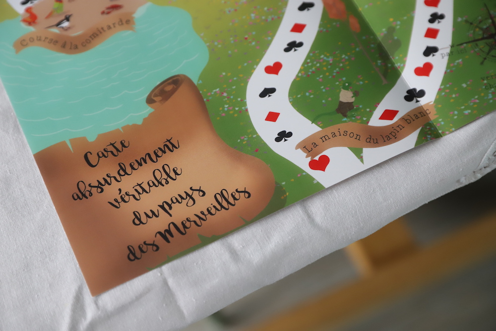 L 39 anniversaire alice au pays des merveilles le blog de marjoliemaman - Anniversaire alice au pays des merveilles ...