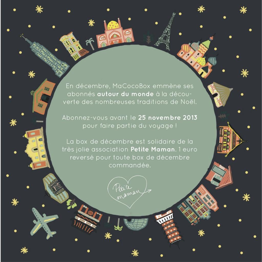 CocoBox Decembre - Noel autour du monde