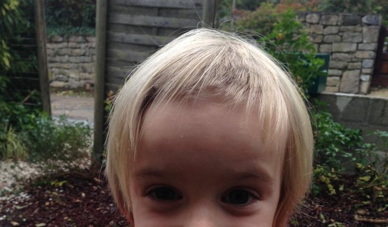 enfant coupe cheveux