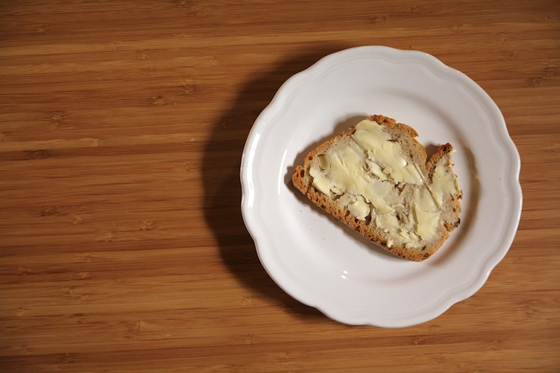tartine de beurre salé