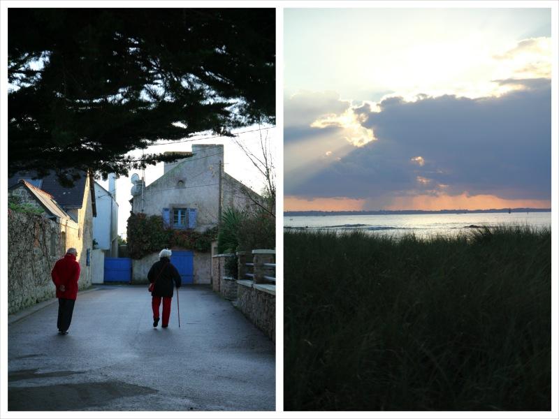 promenade à Gâvres, Morbihan, Bretagne