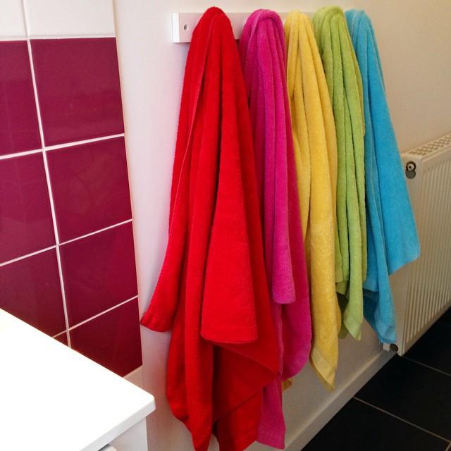 rainbow-towels