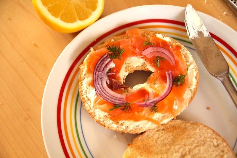 bagel-Saumon