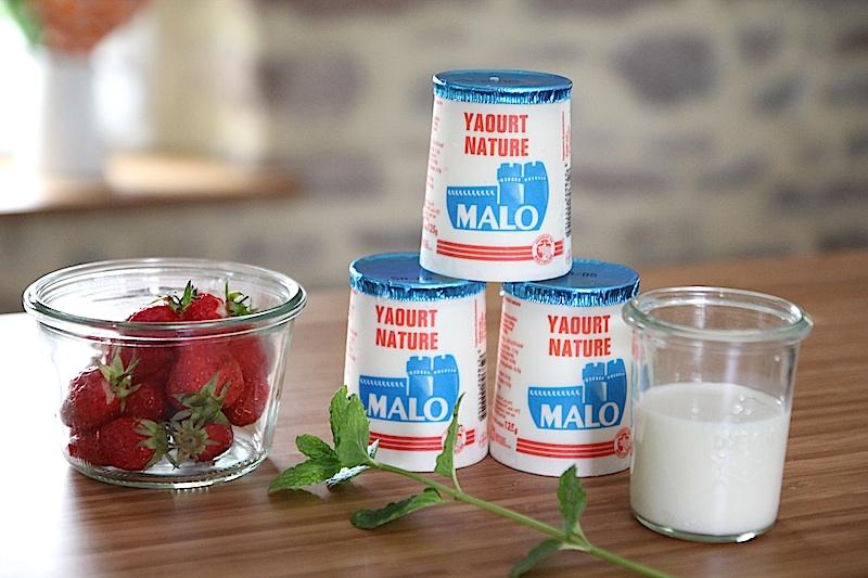Recette du lassi à la fraise