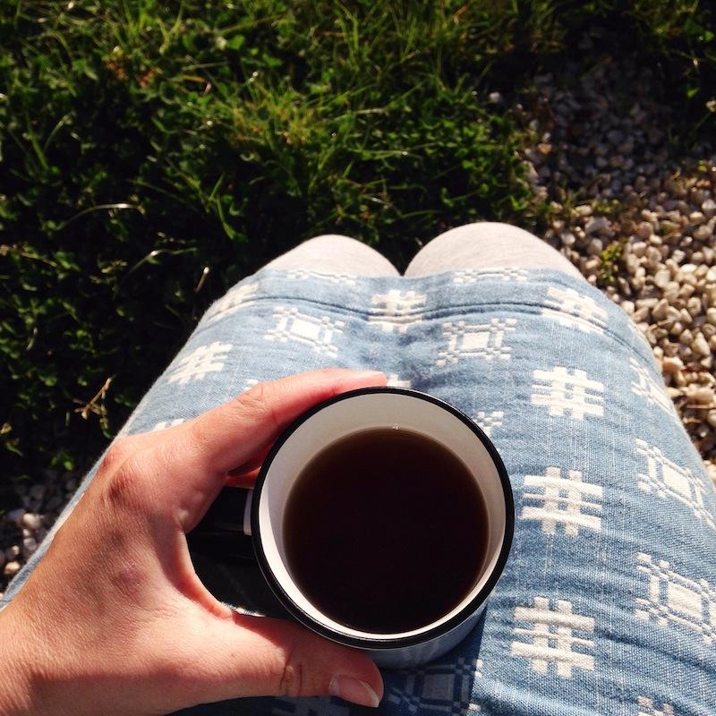 Le thé du matin