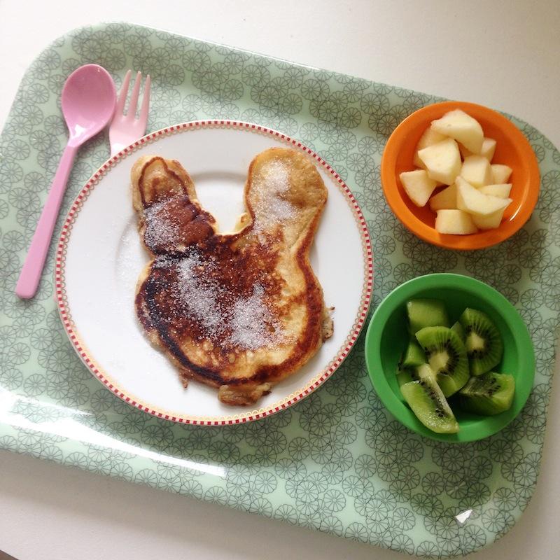 pancake lapin