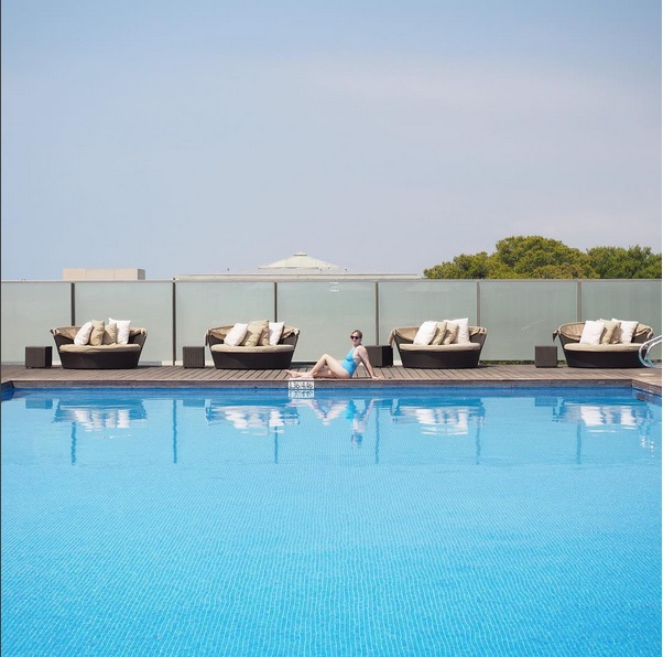 piscine Le Meridien RA