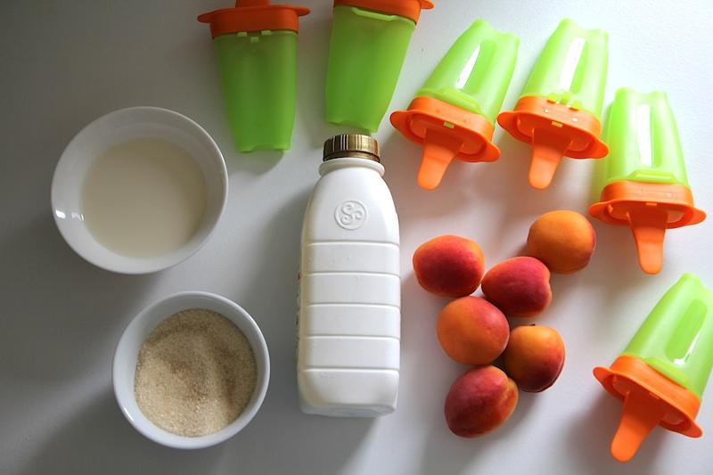 Glaces à l'abricot via Wonderful Breizh