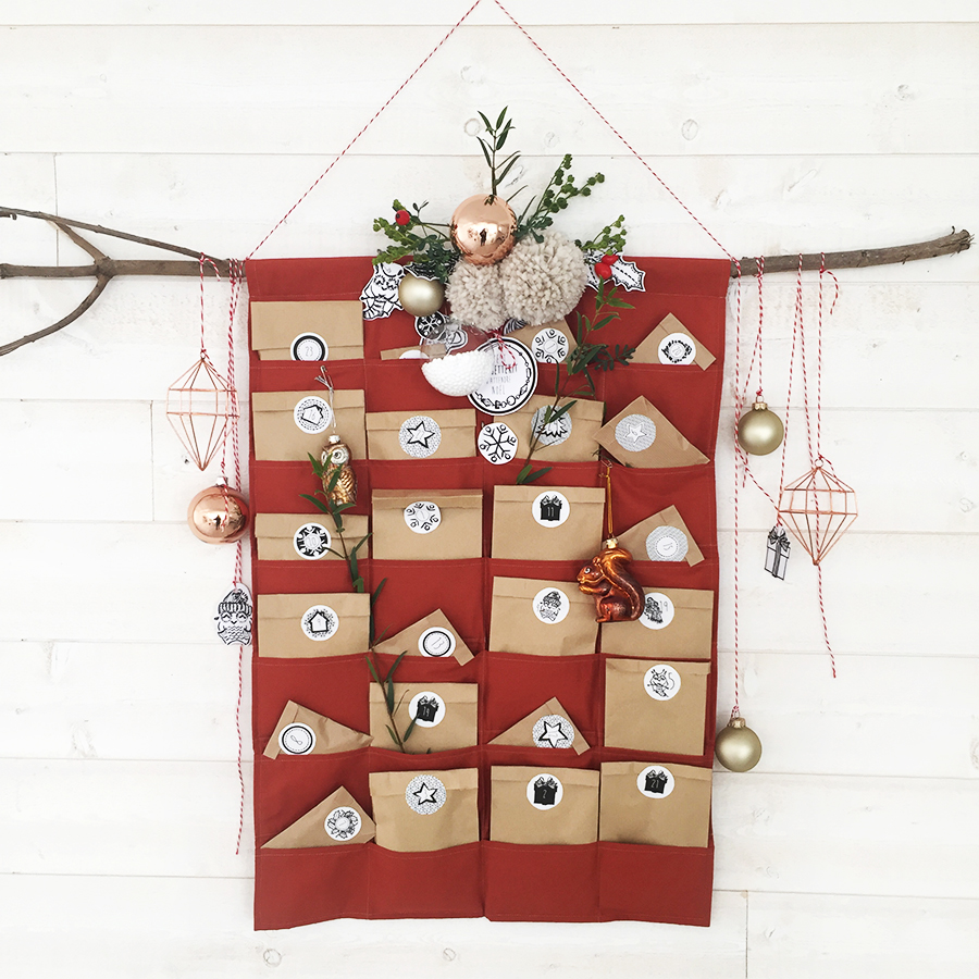 Calendrier Avent Chouette Kit