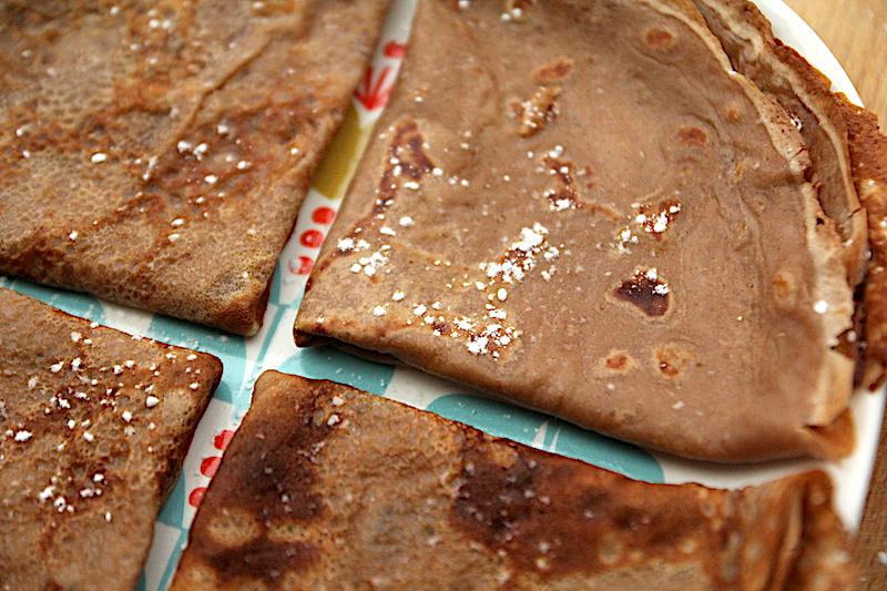 Crêpes au chocolat via Wonderful Breizh