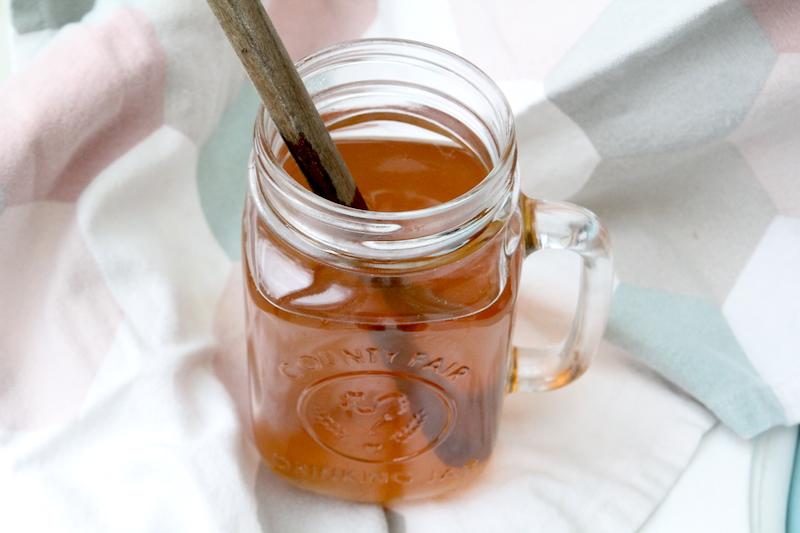 Jus de pomme chaud miel cannelle via Wonderful Breizh
