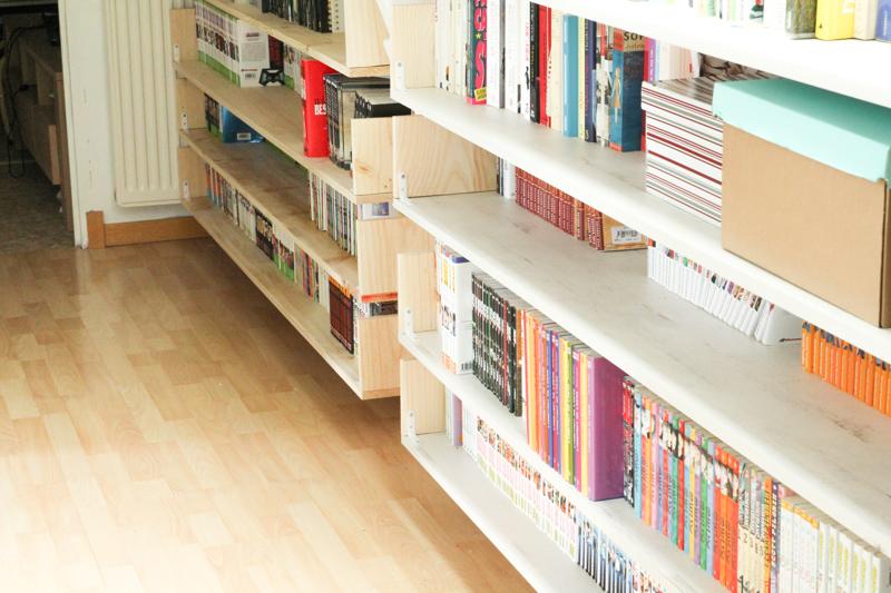 rénovation couloir bibliothèque (via wonderfulbreizh.fr)